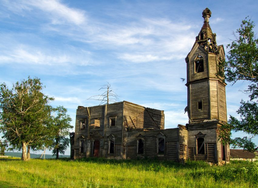 Церковь Дионисия Ареопагита-Муратовка-Ашинский район-Челябинская область