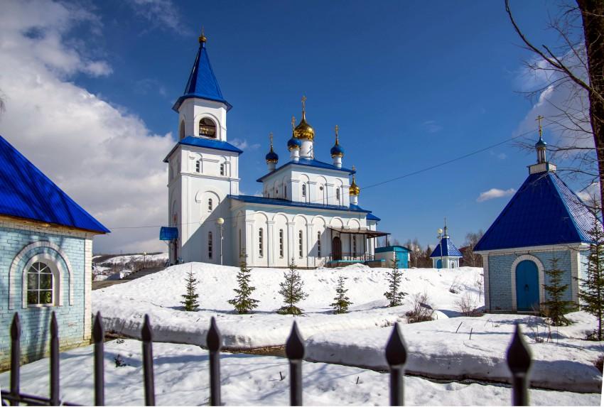Церковь Казанской иконы Божией Матери-Аша-Ашинский район-Челябинская область