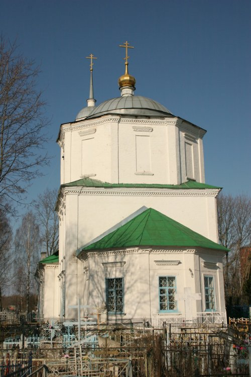 Смоленская область, Гагаринский район, Гагарин. Церковь Вознесения Господня, фотография. фасады,