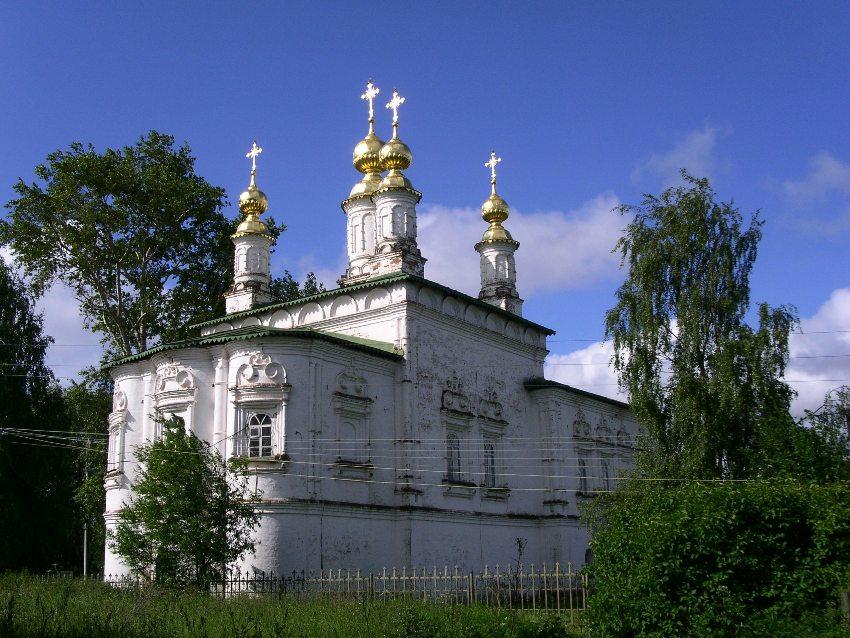 Церковь Жён-мироносиц-Великий Устюг-Великоустюгский район-Вологодская область