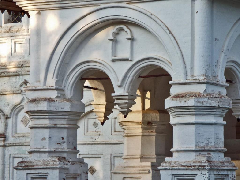 Вологодская область, Великоустюгский район, Великий Устюг. Церковь Жён-мироносиц, фотография. архитектурные детали