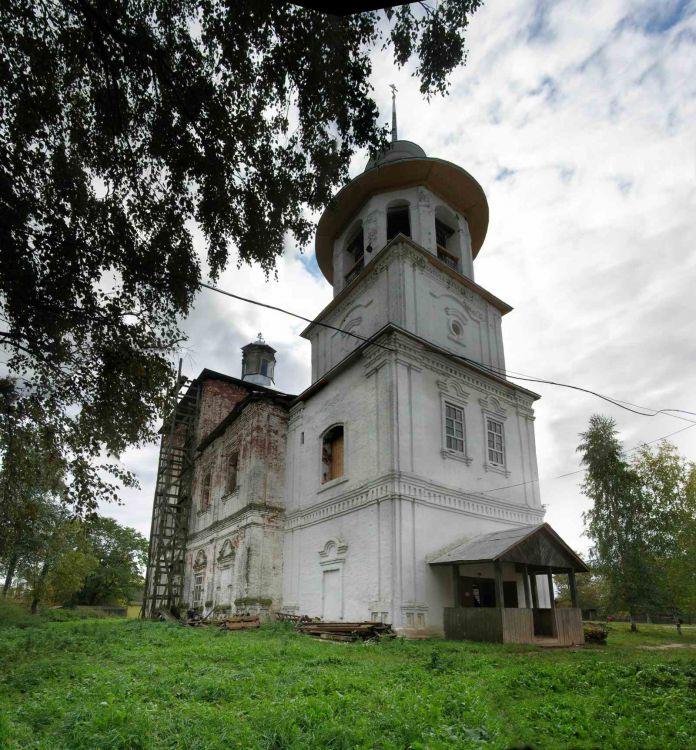 Церковь Илии Пророка, Чаромское