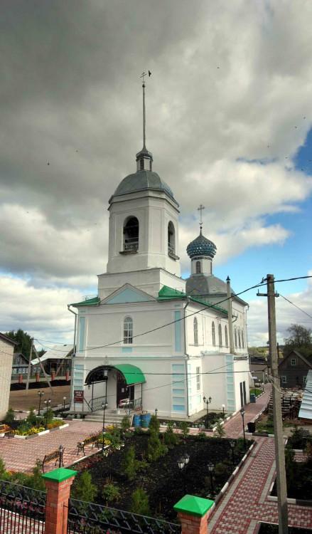 Церковь Николая Чудотворца, Сизьма
