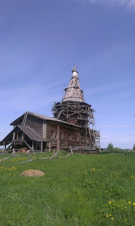 Церковь Илии Пророка, Сельцо