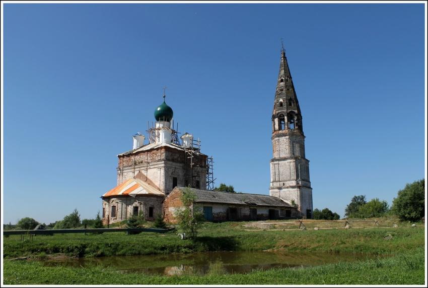 Церковь Казанской иконы Божией Матери, Осенево