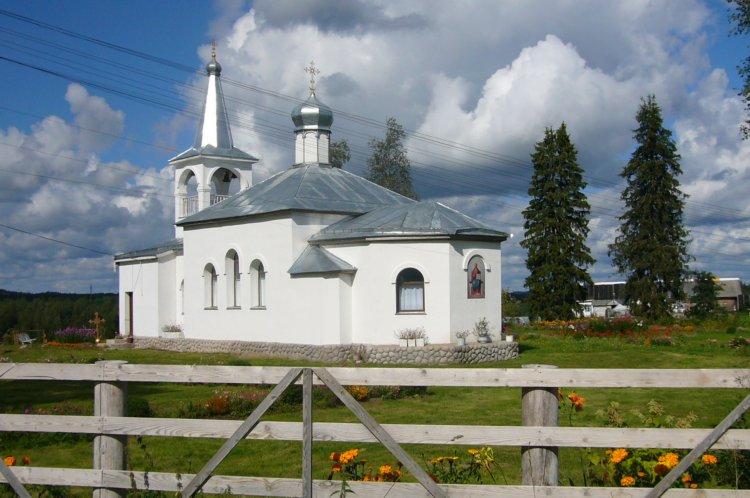 Покрово-Тервенический женский монастырь. Пирозерский скит. Церковь иконы Божией Матери