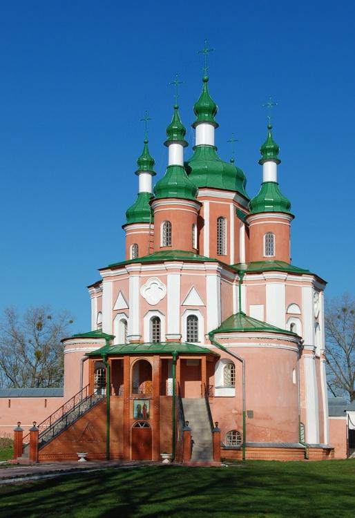 Троицкий Густынский монастырь. Церковь Петра и Павла, Густыня