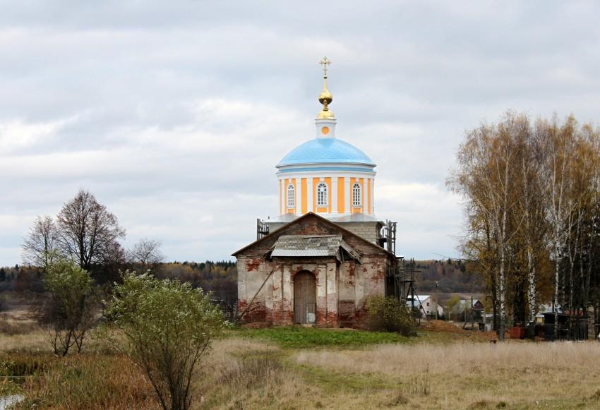 Церковь Тихвинской иконы Божией Матери-Рюминское-Александровский район-Владимирская область