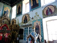 Церковь Параскевы Пятницы - Савина - Пышминский район (Пышминский ГО) - Свердловская область