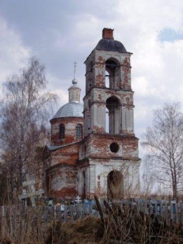 Церковь Успения Пресвятой Богородицы, Вепрева Пустынь