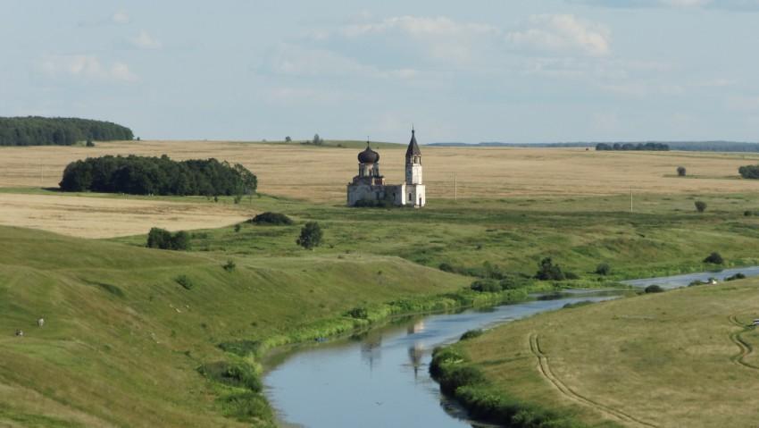 Церковь Троицы Живоначальной, Анненково, урочище