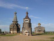 Варзуга. Успенский храмовый комплекс. Колокольня