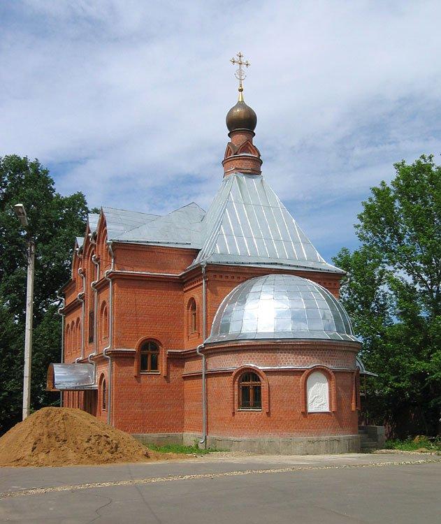 Крестильный храм Иоанна Предтечи, Сходня