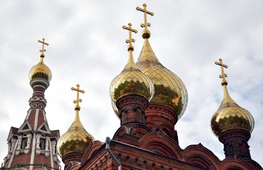 Калужская область, Боровский район, Красное. Церковь Михаила Архангела, фотография. архитектурные детали