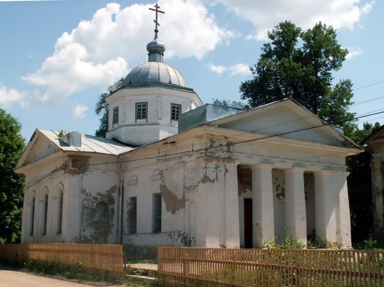 Церковь Андрея Стратилата, Алексино