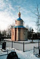 Часовня Благовещения Пресвятой Богородицы на Кузьминском кладбище - Санкт-Петербург - Санкт-Петербург, Пушкинский район - г. Санкт-Петербург