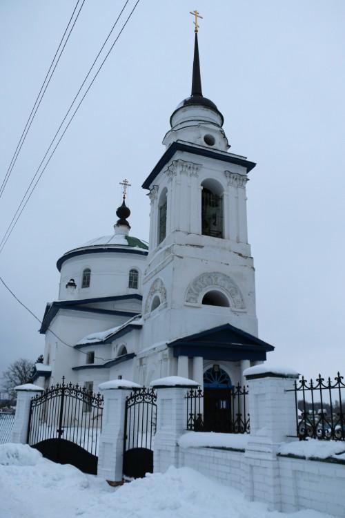 Церковь Спаса Нерукотворного Образа, Лютово