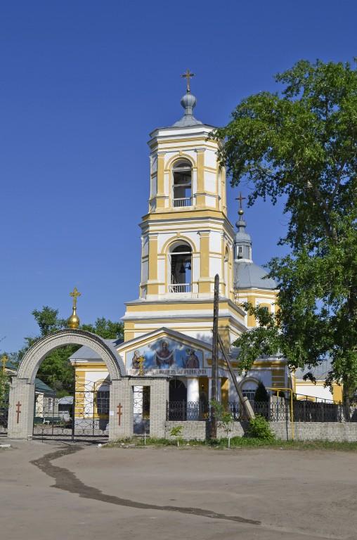 Церковь Покрова Пресвятой Богородицы в Новопокровском, Лиски
