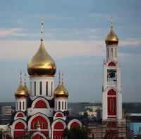 Церковь Георгия Победоносца - Одинцово - Одинцовский городской округ и ЗАТО Власиха, Краснознаменск - Московская область