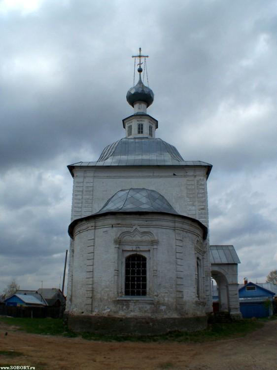 Владимирская область, Суздальский район, Суздаль. Церковь Богоявления Господня, фотография. фасады