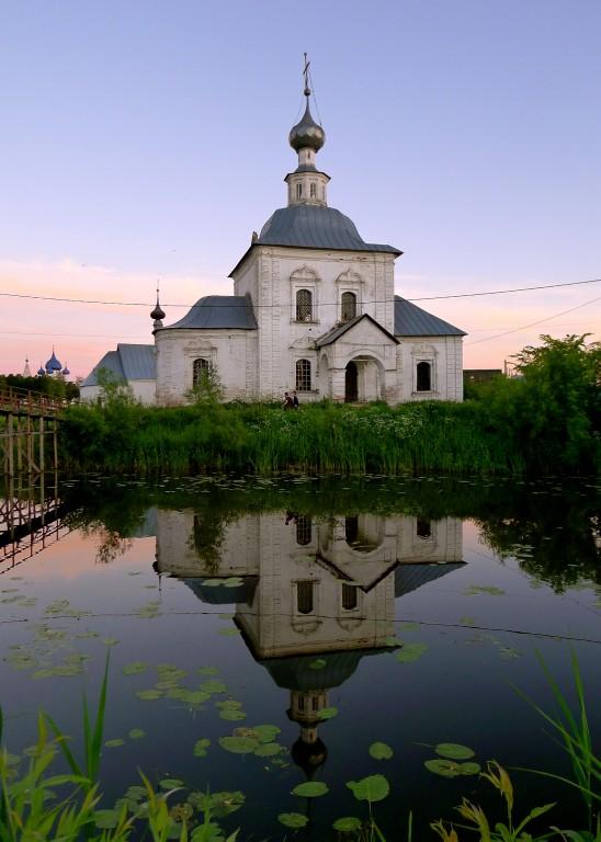 Владимирская область, Суздальский район, Суздаль. Церковь Богоявления Господня, фотография. художественные фотографии