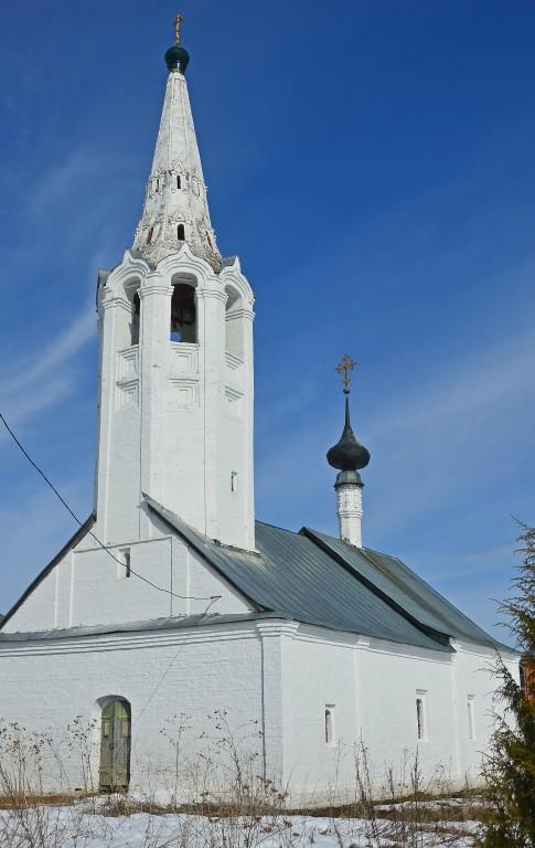 Владимирская область, Суздальский район, Суздаль. Церковь Рождества Иоанна Предтечи, фотография. фасады
