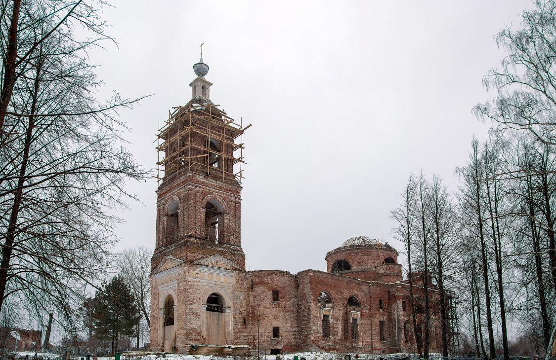 Церковь Спаса Всемилостивого, Спасс