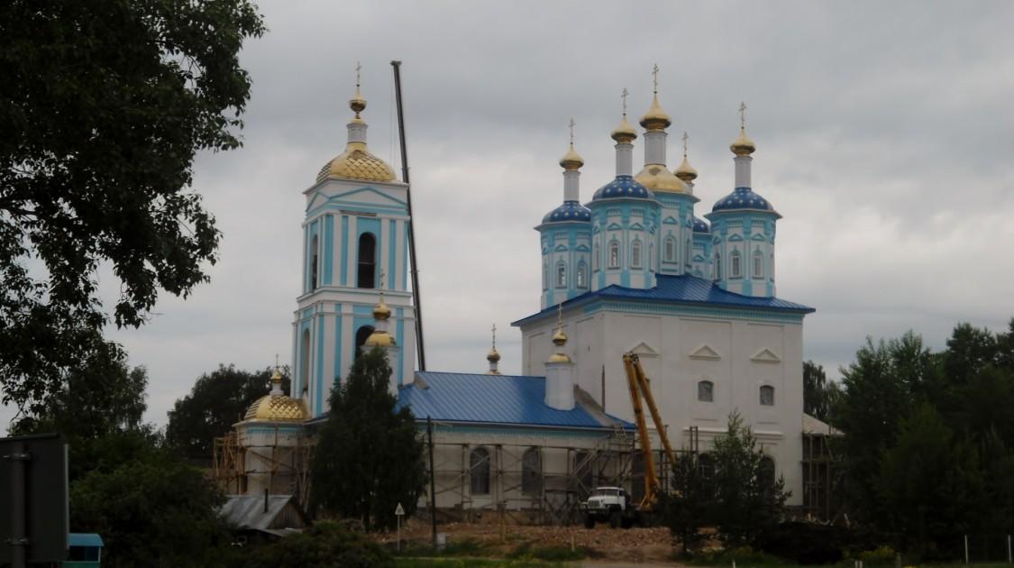 Церковь Казанской иконы Божией Матери, Шексна