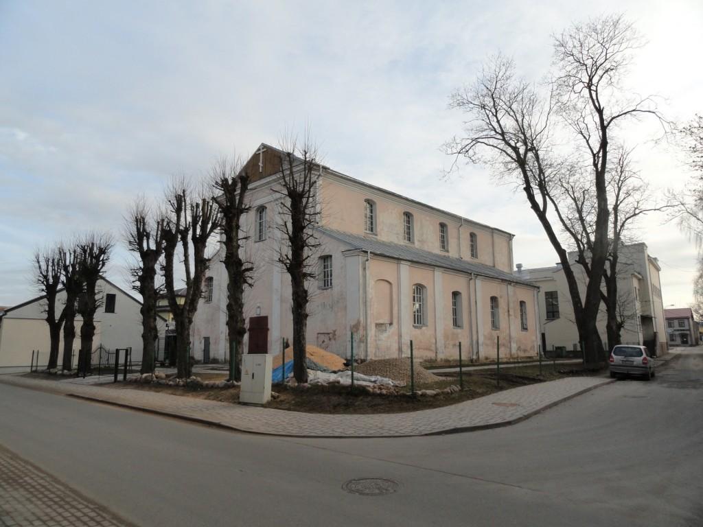 Латвия, Екабпилс, город, Екабпилс. Церковь Покрова Пресвятой Богородицы, фотография. фасады
