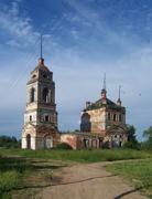 Церковь Троицы Живоначальной - Колбацкое - Ивановский район - Ивановская область