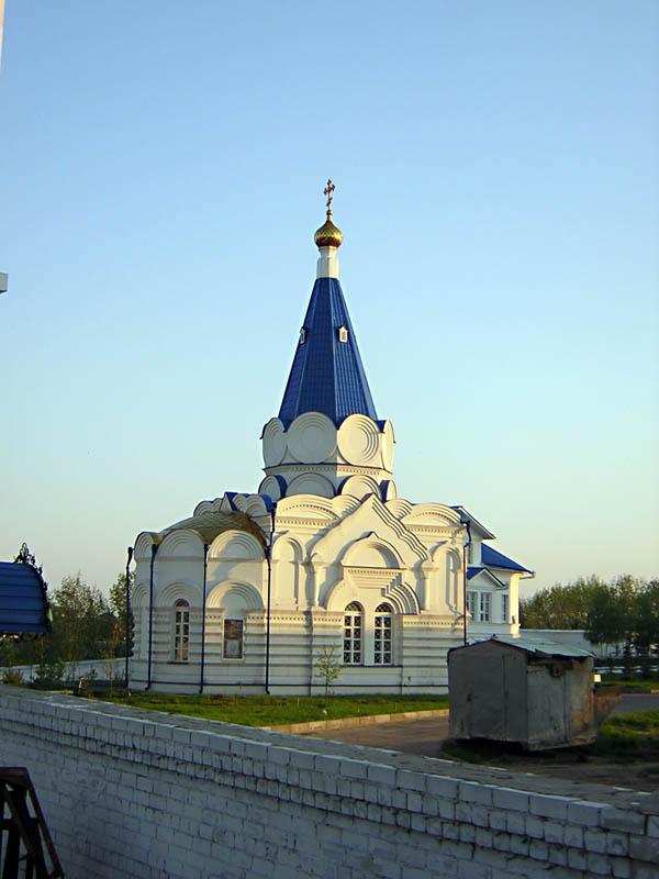 Успенский Зилантов монастырь. Церковь Владимира равноапостольного, Казань