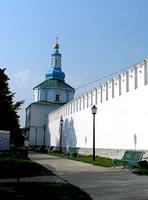 Раифский Богородицкий монастырь. Неизвестная часовня - Раифа - Зеленодольский район - Республика Татарстан