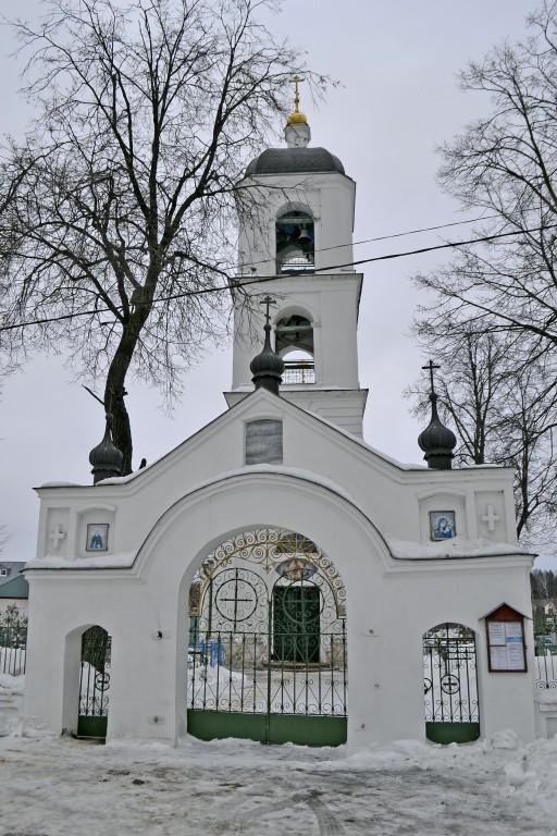 Московская область, Богородский городской округ, Бисерово. Церковь Богоявления Господня, фотография. фасады