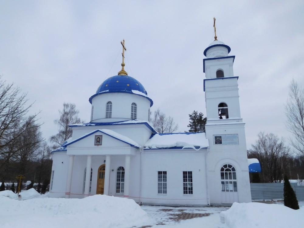 Брянская область, Брянск, город, Брянск. Церковь Иоанна Кронштадтского, фотография. фасады
