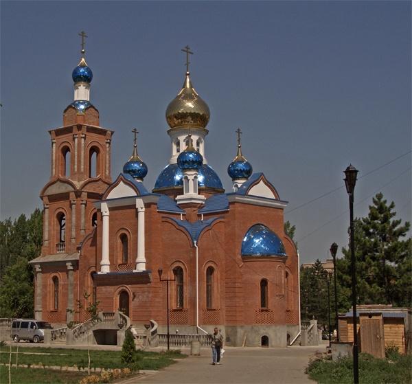 Церковь Азовской иконы Божией Матери, Азов