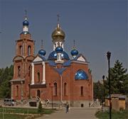 Азов. Азовской иконы Божией Матери, церковь
