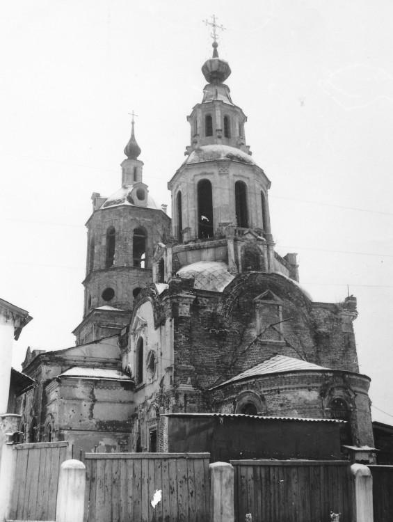 Калужская область, Козельский район, Козельск. Церковь Николая Чудотворца, фотография. фасады