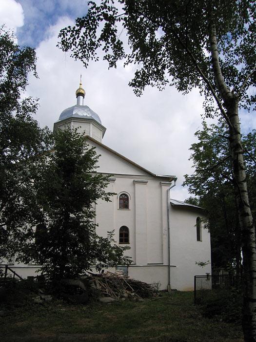 Смоленская область, Сычёвский район, Сычёвка. Церковь Благовещения Пресвятой Богородицы, фотография. фасады,