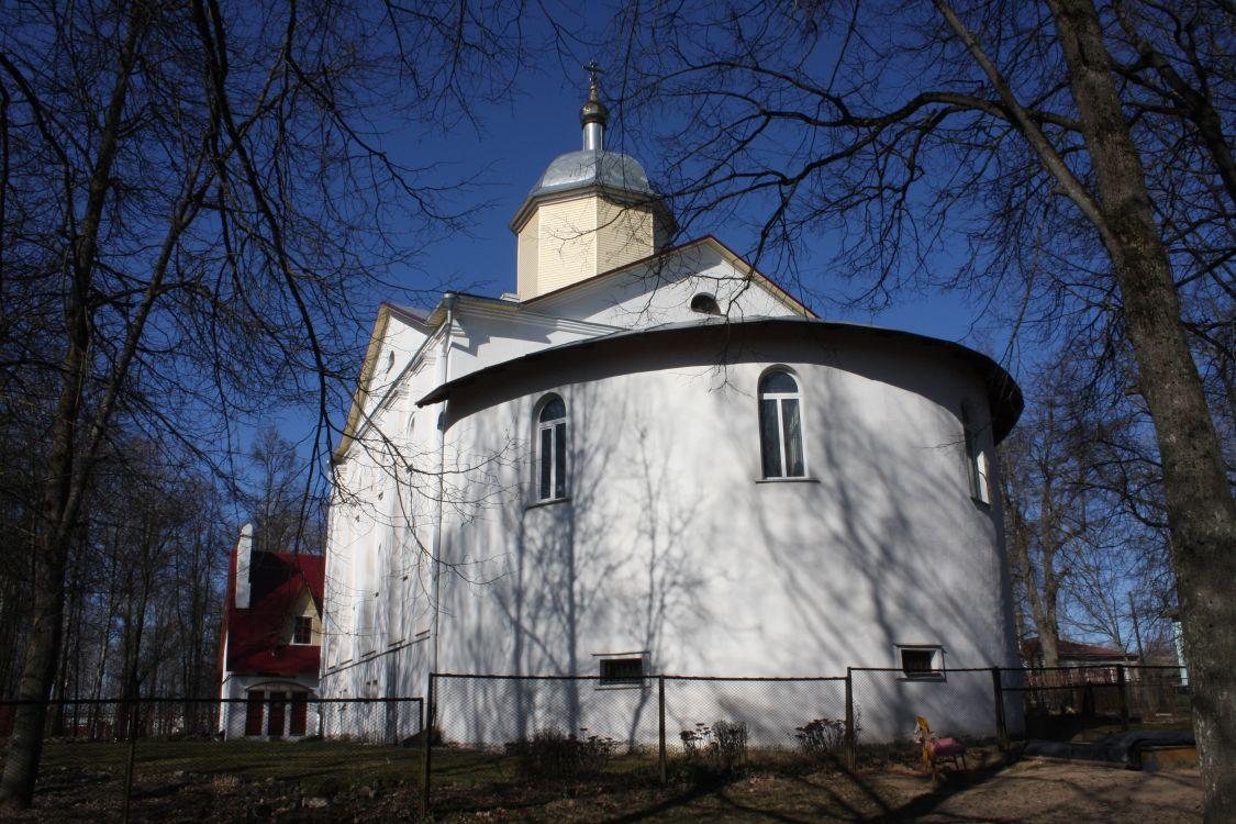 Смоленская область, Сычёвский район, Сычёвка. Церковь Благовещения Пресвятой Богородицы, фотография. фасады