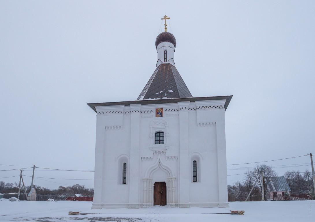 Церковь Илии Пророка, Пруссы