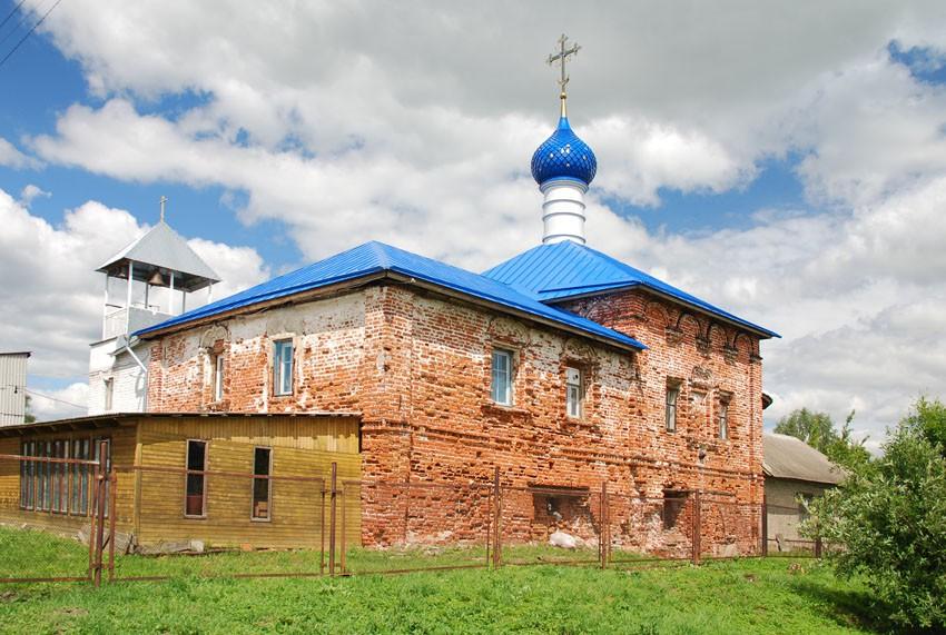 Петровский монастырь. Церковь Похвалы Божией Матери, Ростов