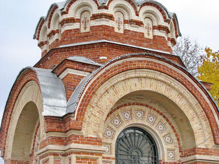 Брянская область, Суражский район, Сураж. Неизвестная часовня, фотография. архитектурные детали