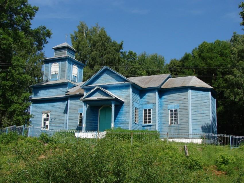 Церковь Николая Чудотворца, Деремна
