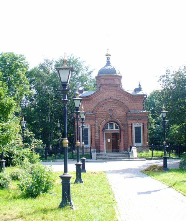 Часовня Александра Невского в Дендрологическом парке, Екатеринбург