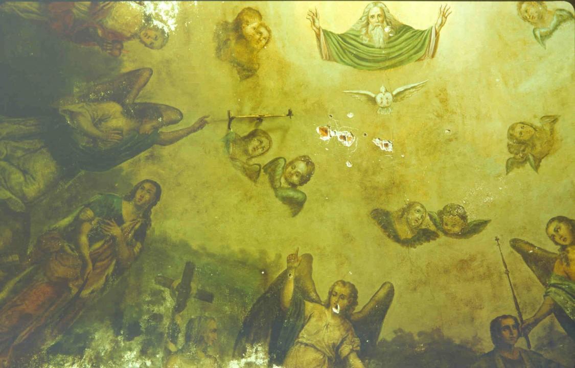 Тверская область, Калининский район, Семёновское. Церковь Димитрия Солунского, фотография. интерьер и убранство, 1994