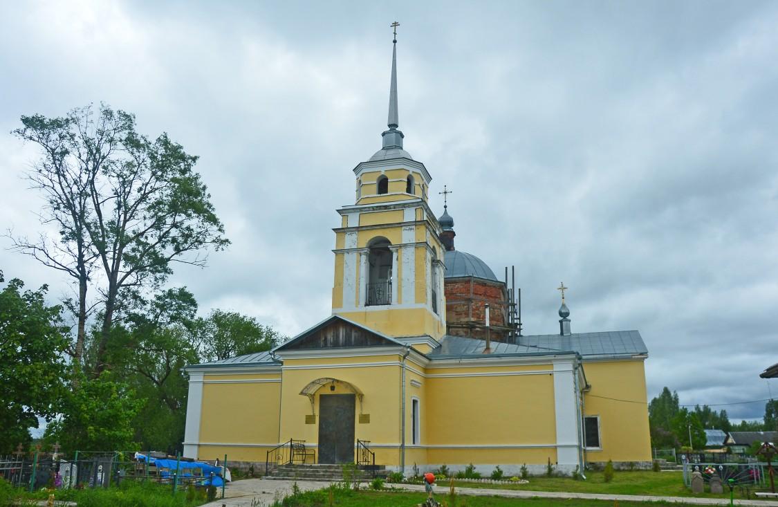 Тверская область, Калининский район, Семёновское. Церковь Димитрия Солунского, фотография. художественные фотографии