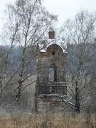 Колокольня церкви Сретения Господня - Большая Ламна - Южский район - Ивановская область