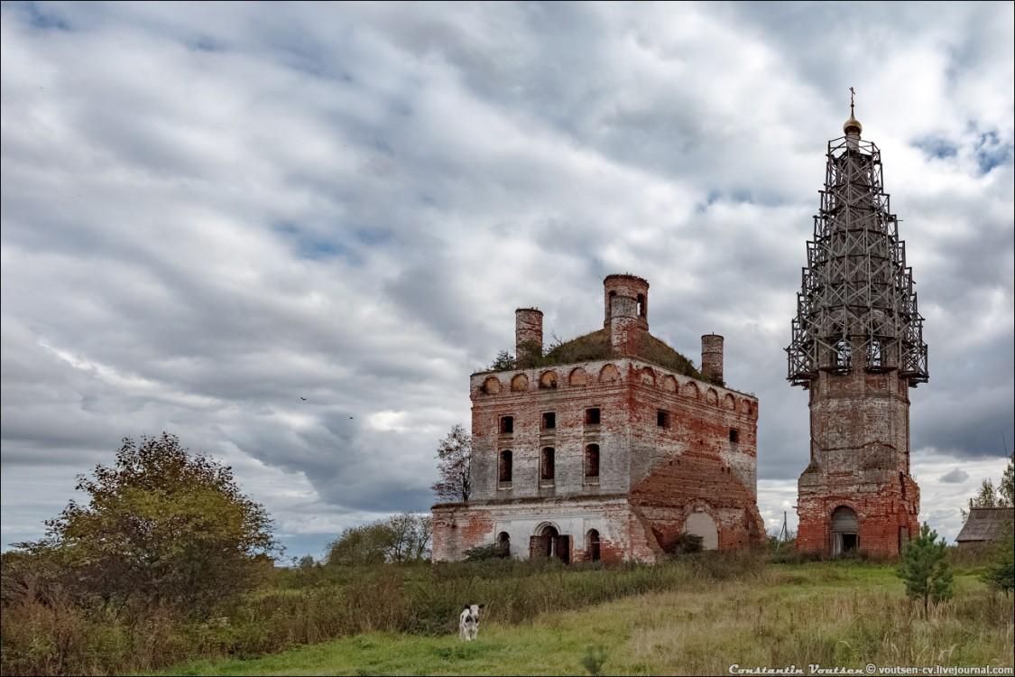 Церковь Успения Пресвятой Богородицы-Кулачёво-Ильинский район-Ивановская область