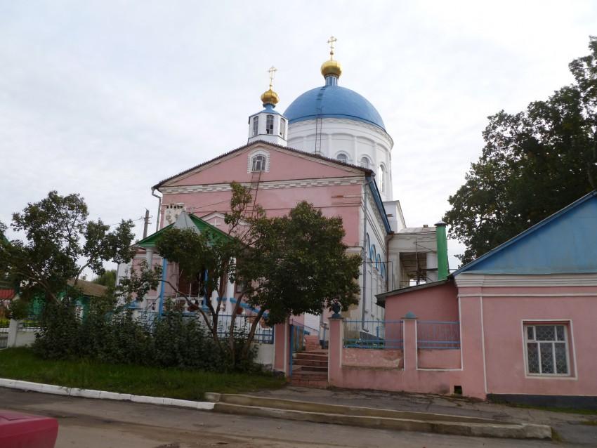 Орловская область, Кромской район, Кромы. Церковь Николая Чудотворца, фотография. фасады