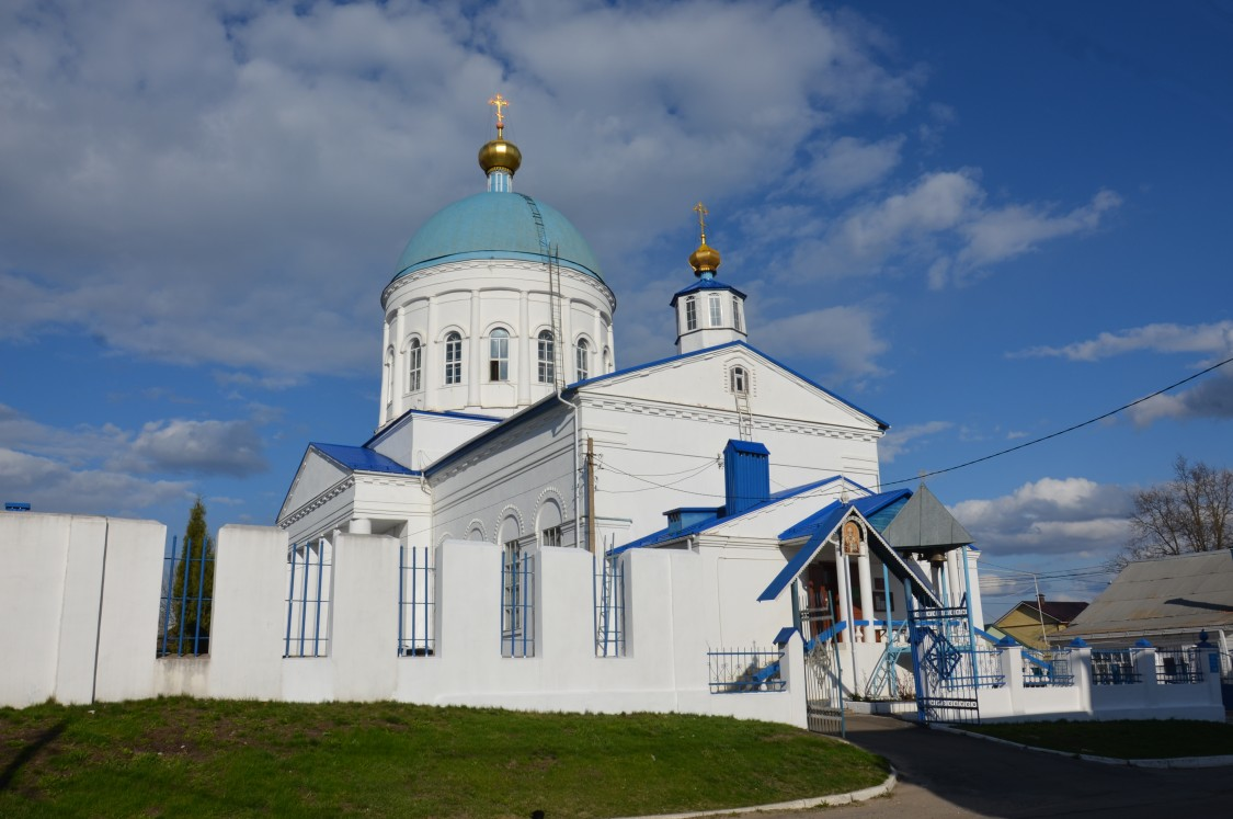 Орловская область, Кромской район, Кромы. Церковь Николая Чудотворца, фотография.